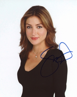 Sasha Alexander Signed 8x10 Photo - Video Proof