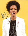 Sasheer Zamata Signed 8x10 Photo