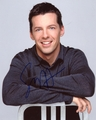 Sean Hayes Signed 8x10 Photo - Video Proof