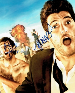 Adam Pally & Thomas Middleditch Signed 8x10 Photo