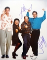 Jerry Seinfeld & Jason Alexander Signed 11x14 Photo