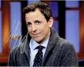 Seth Meyers Signed 8x10 Photo