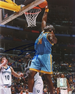 Shaquille O'Neal Signed 8x10 Photo