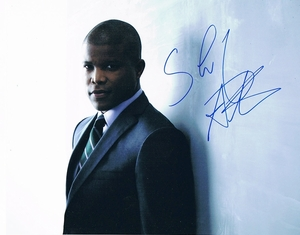 Sharif Atkins Signed 8x10 Photo