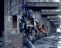 Sharlto Copley Signed 8x10 Photo