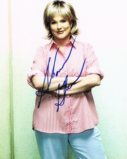 Sharon Gless Signed 8x10 Photo - Video Proof