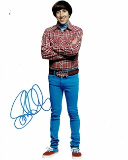 Simon Helberg Signed 8x10 Photo - Video Proof