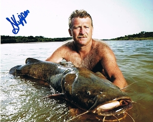Skipper Bivins Signed 8x10 Photo