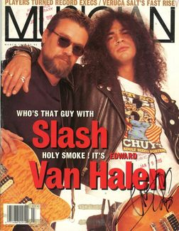 Slash Signed Magazine