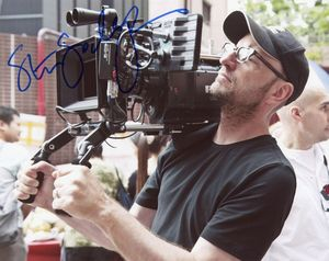 Steven Soderbergh Signed 8x10 Photo