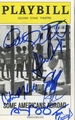 Some Americans Abroad Signed Playbill