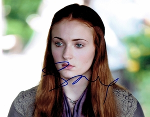Sophie Turner Signed 8x10 Photo - Video Proof