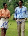 Parker Sawyers & Tika Sumpter Signed 8x10 Photo