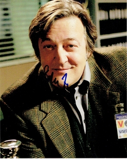 Stephen Fry Signed 8x10 Photo