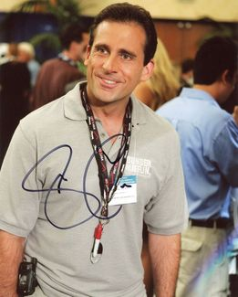Steve Carell Signed 8x10 Photo