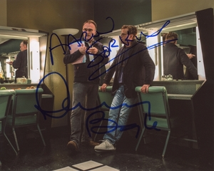Aaron Sorkin & Danny Boyle Signed 8x10 Photo