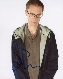 Stephen Merchant Signed 8x10 Photo - Video Proof
