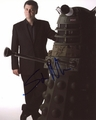 Steven Moffat Signed 8x10 Photo