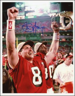 Steve Young Signed 8x10 Photo