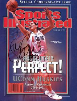 Sue Bird Signed SI Magazine