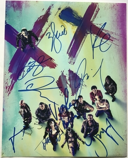 Suicide Squad Signed 11x14 Photo - Video Proof