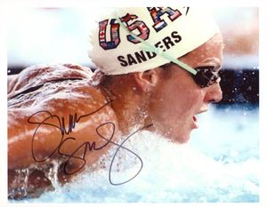 Summer Sanders Signed 8x10 Photo