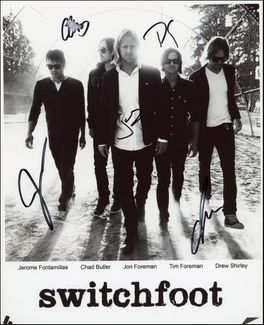 Switchfoot Signed 8x10 Photo