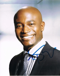 Taye Diggs Signed 8x10 Photo - Video Proof
