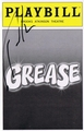 Taylor Hicks Signed Playbill