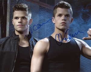 Charlie & Max Carver Signed 8x10 Photo