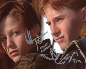 Edward Furlong & Danny Cooksey Signed 8x10 Photo - Proof