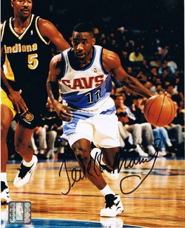 Terrell Brandon Signed 8x10 Photo