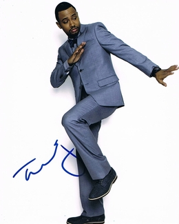 Terrence J Signed 8x10 Photo - Video Proof