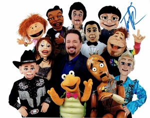 Terry Fator Signed 8x10 Photo - Video Proof