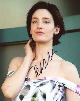 Tess Haubrich Signed 8x10 Photo - Video Proof