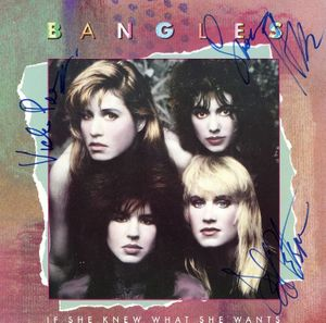 The Bangles Signed 45 Sleeve