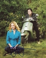Laura Linney & Oliver Platt Signed 8x10 Photo - Video Proof
