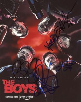 The Boys Signed 8x10 Photo