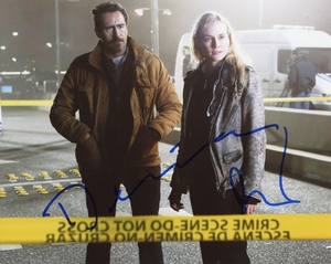 Diane Kruger & Demian Bichir Signed 8x10 Photo