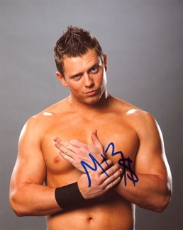 The Miz Signed 8x10 Photo
