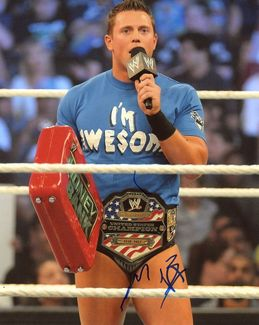 The Miz Signed 8x10 Photo - Video Proof