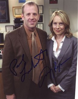 Paul Lieberstein & Amy Ryan Signed 8x10 Photo - Video Proof