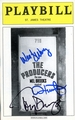 The Producers Signed Playbill
