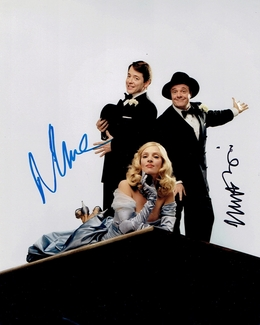 Nathan Lane & Matthew Broderick Signed 8x10 Photo - Video Proof