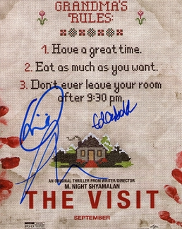 The Visit Signed 8x10 Photo