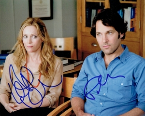 Paul Rudd & Leslie Mann Signed 8x10 Photo - Video Proof