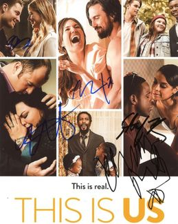 This Is Us Signed 8x10 Photo