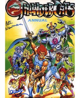 Thundercats Signed 8x10 Photo