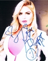 Tia Barr Signed 8x10 Photo