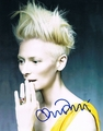 Tilda Swinton Signed 8x10 Photo - Video Proof
